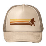 Gorra retro del camionero de Sasquatch