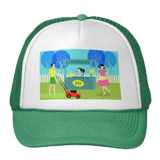 Gorra retro del camionero del puesto de limonadas