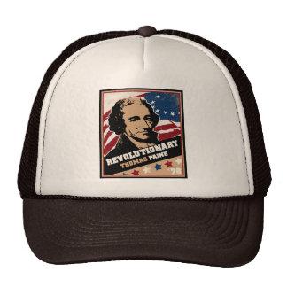 Gorra revolucionario del camionero de Thomas Paine