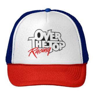 Gorra rojo, blanco, y azul del camionero de OTTR