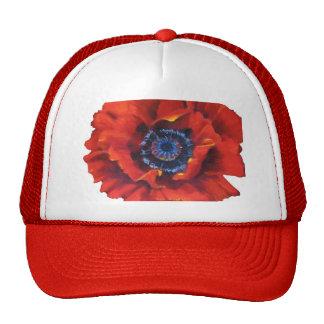 Gorra rojo de la amapola