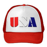 Gorra rojo de los camioneros de los E.E.U.U.