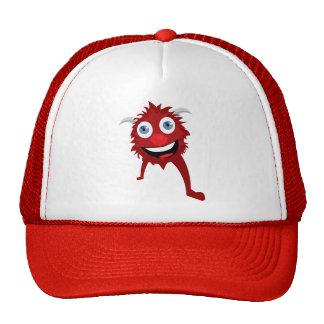 ¡Gorra rojo de Moster! Gorras De Camionero