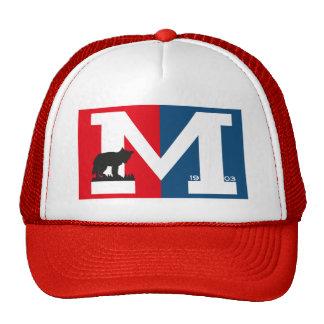 Gorra rojo del camionero del alcohol de Mowglis