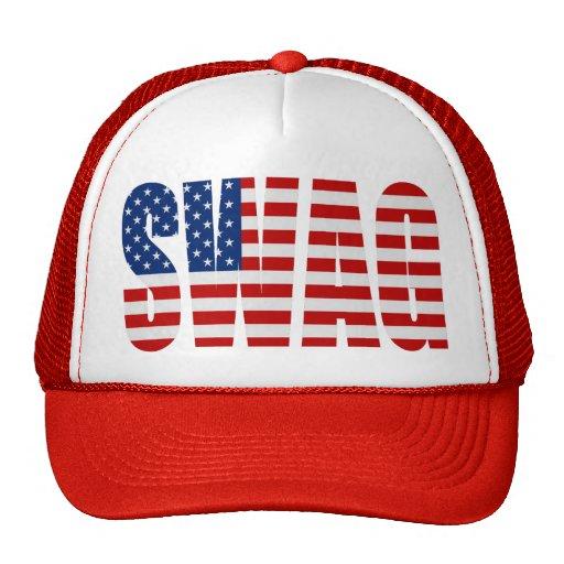 Gorra rojo del camionero del Snapback de la malla