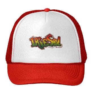 Gorra rojo del camionero del solenoide de Irie