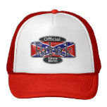 Gorra rojo del cuello