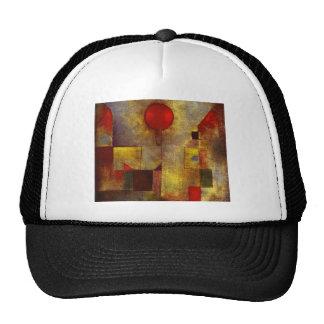 Gorra rojo del globo de Paul Klee