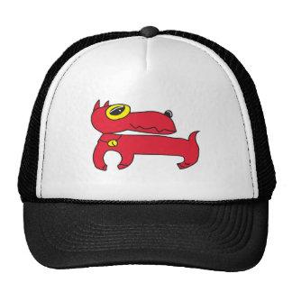 Gorra rojo del Pinscher miniatura
