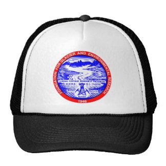 Gorra rojo y azul del logotipo de JIRP