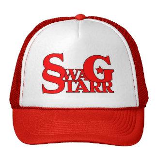 Gorra rojo y blanco de Starr del Swag