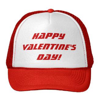 Gorra rojo y blanco del el día de San Valentín