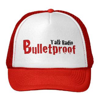 Gorra rojo y negro de BPTR del título del logotipo