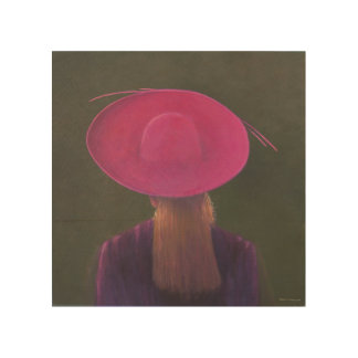 Gorra rosado 2014 cuadros de madera