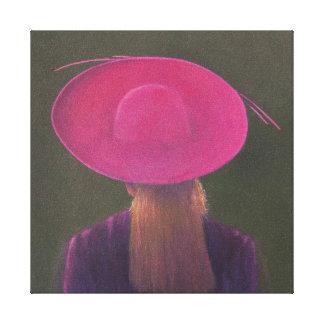 Gorra rosado 2014 impresiones de lienzo