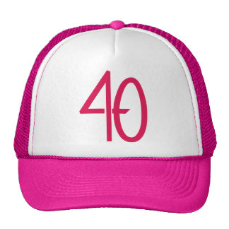 Gorra rosado 40