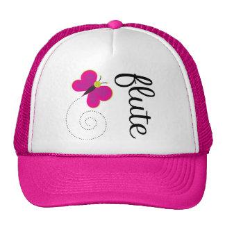 Gorra rosado bonito de la flauta