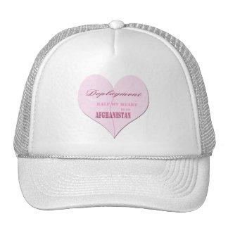 Gorra rosado de Afganistán del despliegue del cora