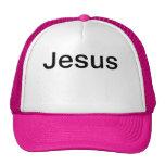 Gorra rosado de Jesús