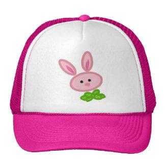 Gorra rosado de las señoras del conejito