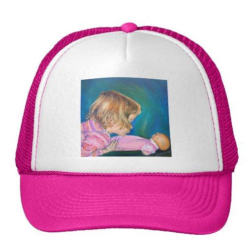 Gorra rosado de los pijamas