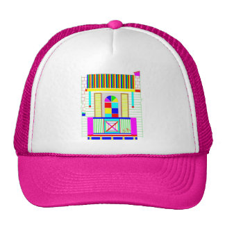 Gorra rosado del balcón