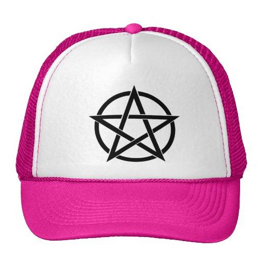 Gorra rosado del camionero