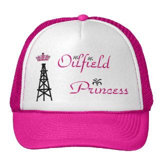 Gorra rosado del camionero de la princesa del camp