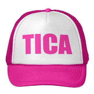 Gorra rosado del camionero de Tica Costa Rica