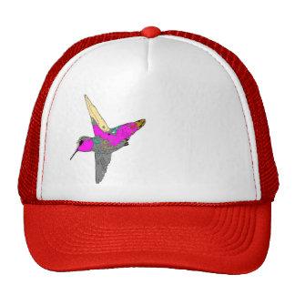 Gorra rosado del colibrí