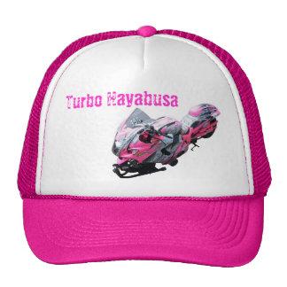 Gorra rosado Wyldfantasies de la bici de la fricci