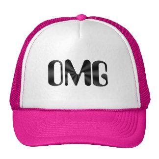Gorra rosado y blanco de OMG