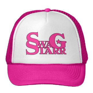Gorra rosado y blanco de Starr del Swag
