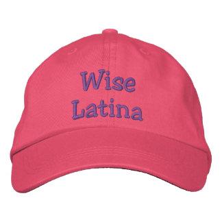 Gorra sabio de Latina Gorras De Beisbol Bordadas