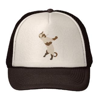 Gorra siamés derecho