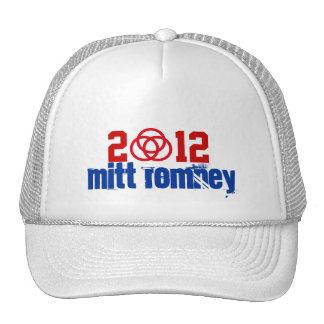 Gorra simbólico 2012 de la ayuda de Mitt Romney de