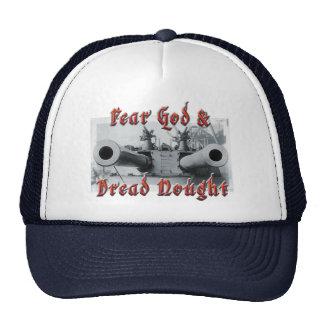 Gorra sin valor de dios del miedo y del camionero