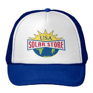 Gorra solar del logotipo de la tienda de los E.E.U