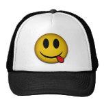 Gorra sonriente amarillo