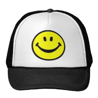 Gorra sonriente clásico de la cara