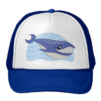 Gorra sonriente de la ballena