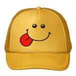 Gorra sonriente de la cara