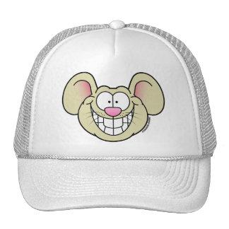 Gorra sonriente del ratón del moreno