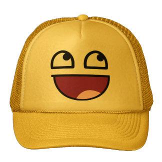 Gorra sonriente impresionante