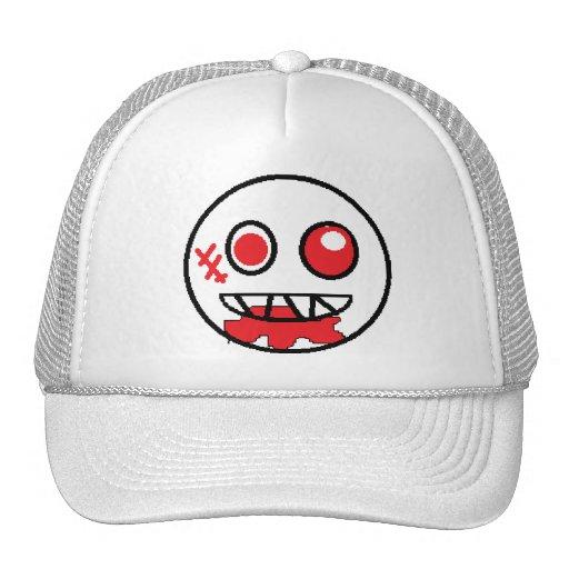 Gorra sonriente sangriento del camionero