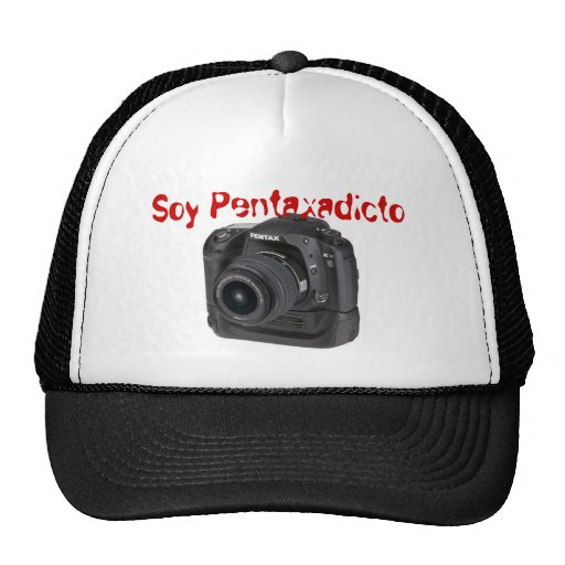 Gorra Soy Pentaxadicto Mesh Hat
