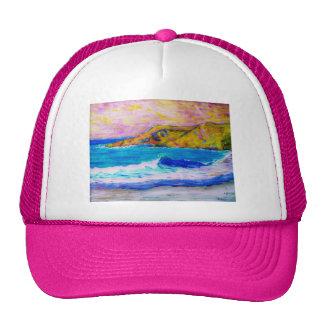gorra splasing de la playa de las ondas de la play