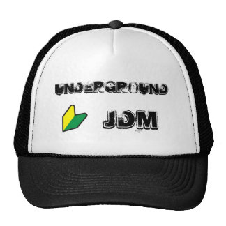 Gorra subterráneo del camionero de JDM