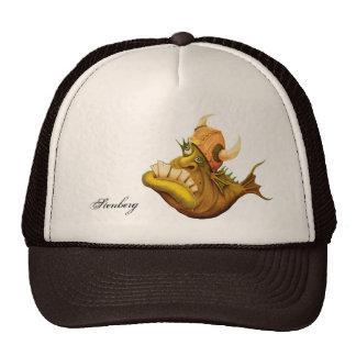 gorra sueco del camionero de los pescados