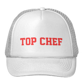 Gorra superior del cocinero